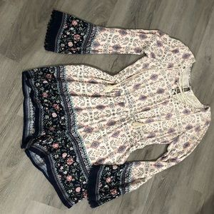 💐Cute floral ROMPER long sleeve